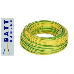 Batt Cables H07V-K 1x6mm2 G/V 100 metri